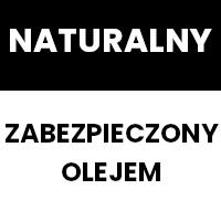 Naturalny (zabezpieczone olejem)